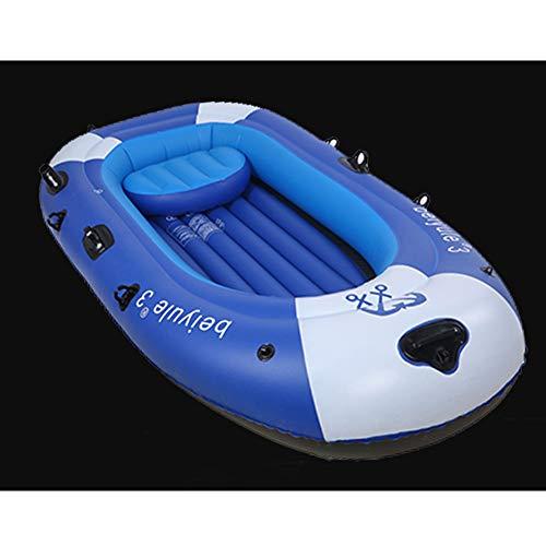 Hinchable Kayak, Juego De Kayak Inflable para 3 Personas con Remos Y Bomba De Aire, Kayak De Mar Inflable,3personboatstandard