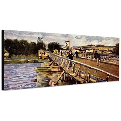 150 x 50 cm_Wandbild Alfred_Sisley_056_ stampa artistica