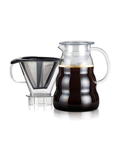 Bodum - 11762-10-01S - MELIOR - Cafetière, filtre permanent maille inox, 8 tasses - 1.0 L