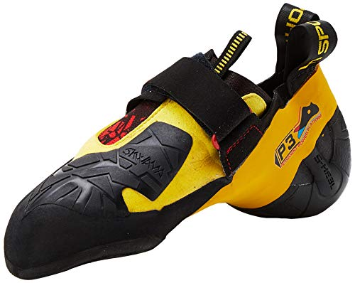 La Sportiva S.p.A. Skwama Men Größe 39,5 Black/Yellow