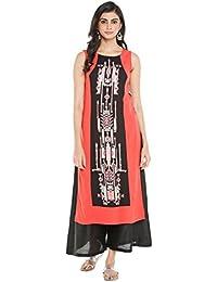 Rangmanch By Pantaloons Women's Straight Kurta - B07913V389