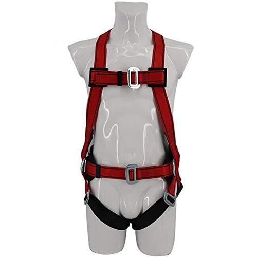 Imbracatura professionale a 4 punti con cinture di sicurezza Imbracatura di sicurezza per l'alta quota Imbracatura per il corpo per uso esterno Espansione esterna Cintura di arrampicata in poliestere