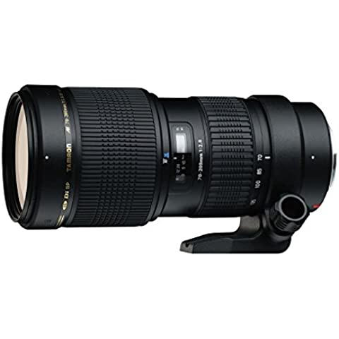 Tamron A001E 70 - 200 / 2,8 DI LD Macro - Objetivo para Canon (distancia focal 70-200mm, apertura f/2.8, zoom óptico 2,8x,macro, diámetro: 77mm) negro