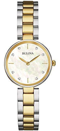 6 - Damen Designer-Armbanduhr - Edelstahl - Goldfarben ()
