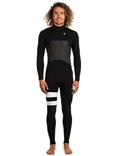 85ee8c561c4a2 Hurley Wetsuits - Hurley Advantage Plus 4 3mm 2018 Chest Zip Wetsuit - Black