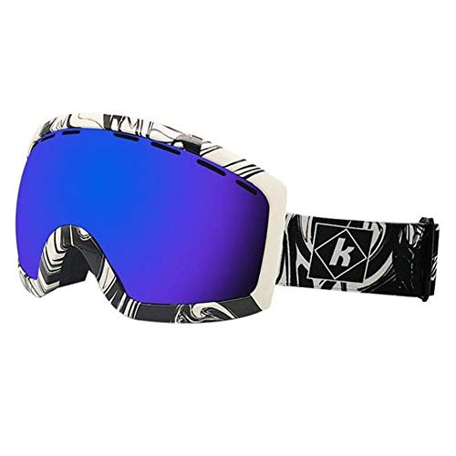 CSXM SkibrilleProfessionelle Doppel-Skibrille Head Hunters Motorradbrille Sonnenbrille Ski Snowboardbrille, F