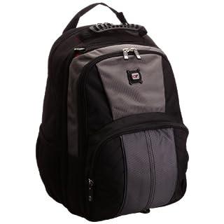 Gino Ferrari Unisex-Adult Astor Laptop Bag Black/Grey GF502