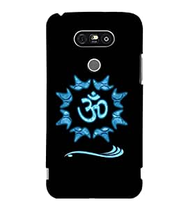 printtech Om Lord Shiva Back Case Cover for LG G5 :: LG G5 Dual H860N with dual-SIM card slots