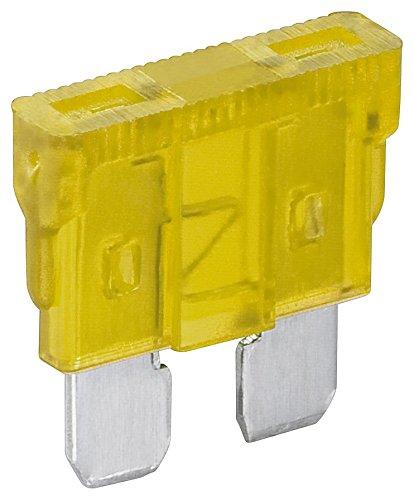Fixpoint 20384 Kfz-Sicherungssortiment, 20 A, Gelb (6-er pack) (Alarm Accord Honda)