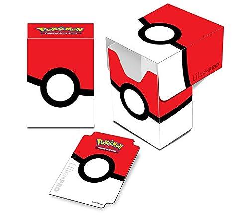 Pokémon - Jeux de Cartes - Boites de Rangement - Deck Box Pokéball
