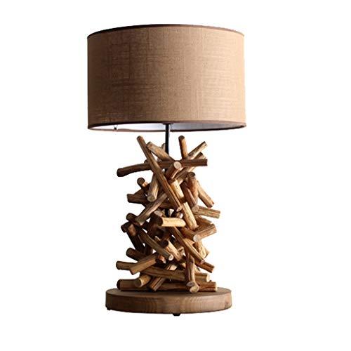 Queen Boutiques Hotel Inn Wood Lamp Schlafzimmer Creative Branch Wood Nachttischlampe -
