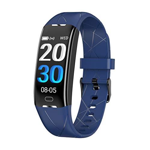 LRWEY Fitness Armband Herzfrequenz Smart Armband, Smart Watch Blutdruck Pulsmesser Schlaf Sport Fitness Tracker, für iPhone Android Handy