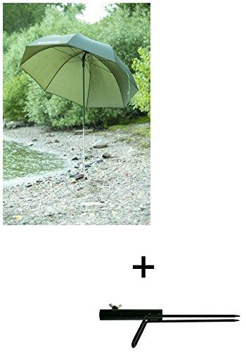 Balzer Angelschirm 2,20 m mit Schirmstütze im Set