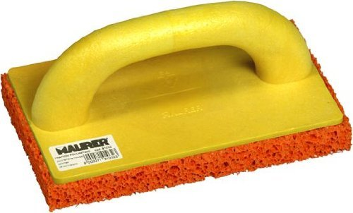 Polyurethan-Kelle 240x120 mm, Stärke 18 mm Basis-Orange Sponge Maurer