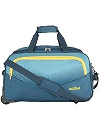 American Tourister Ohio Polyester 65 cms Blue Travel Duffle (FJ9 (0) 01 002)