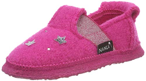 Nanga Mädchen Unicorn Niedrige Hausschuhe, Pink (Himbeere 27), 32 EU