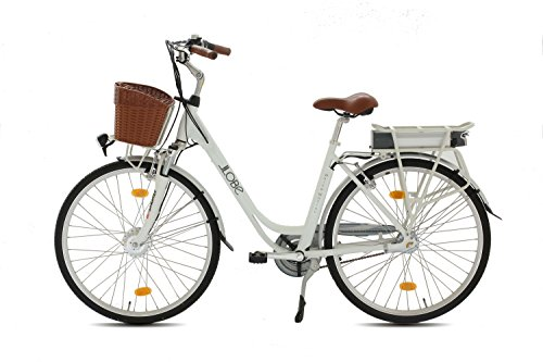 LLOBE E-Bike City Damen White Motion, 28 Zoll - 2