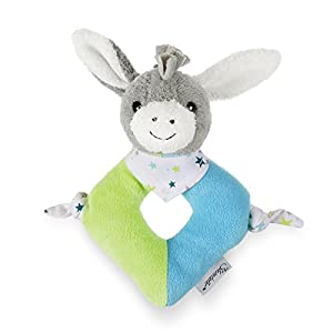 Sterntaler 3301731 Burro de juguete Algodón, Poliéster Multicolor juguete de peluche - Juguetes de peluche (Burro de juguete, Multicolor, Algodón, Poliéster, Burro, 30 °C, 170 mm)