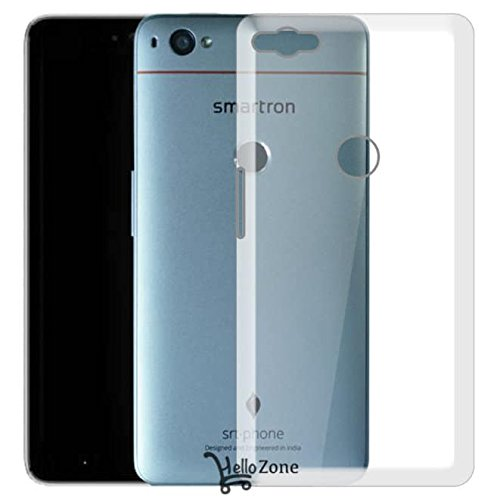 Hello Zone Exclusive Soft Transparent Crystal Clear Back Cover Back Case Cover For Smartron srt.phone