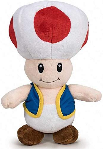 Peluche Toad 20 cm de Super Mario Bros