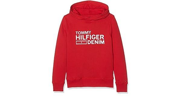 Tommy Hilfiger Boys AME Hilfiger Hd HWK L S Sweatshirt KB0KB03387 49b7f8ca2023