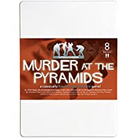 Murder at The Pyramids 8 Player Murder Mystery Dinner Party Game