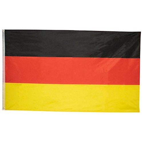 Trixes Große Deutsche Nationalmannschaft 5ft x 3ft Deutschland Flagge für Fussball Weltmeisterschaft 2018 (Fußball Themen Kostüm)