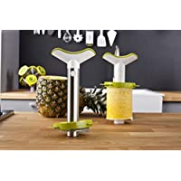 Tomorrow's Kitchen 4872360 Cortapiñas, Acero Inoxidable, INOX/Verde, 4 cm