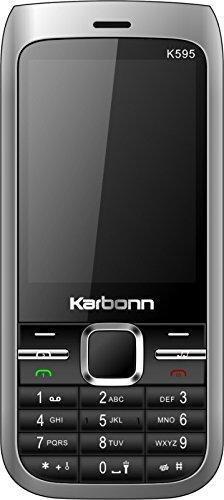 Karbonn K595 Dual Sim Mobile Phone (Black)
