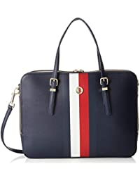 Tommy Hilfiger Honey Computer Bag - Borse per PC portatili Donna, Blu (Corporate), 6x28x37 cm (B x H T)