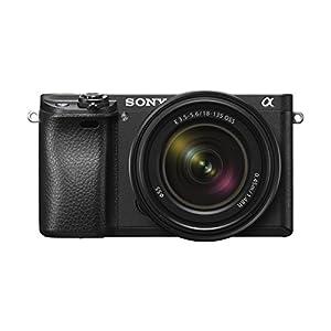 Sony-Alpha-6300-E-Mount-Kamera-Systemkamera-Body-242-Megapixel-EXMOR-APS-C-CMOS-Sensor-mit-BIONZ-X-schneller-Hybrid-AF-mit-005-Sek-Reaktionszeit-425-Phasen-AF-Punkte-XGA-OLED-Sucher-schwarz