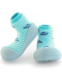 attipas UFO Azul Zapatos Primi Passi Niños Niñas y Niños, antideslizante, ergonómico