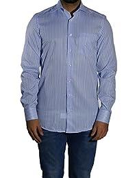 MUGA Homme Chemise à manches extra longues