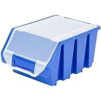 große Regal Kästen mit Deckel 3,8 Liter Lagerkästen Regalbehälter Aufbewahrungsbox
