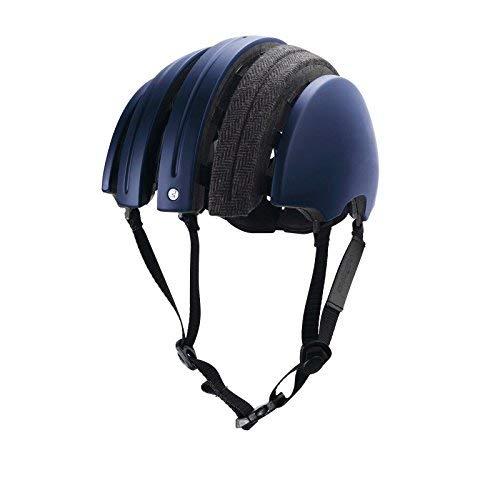 Brooks J.B. Special faltbarer Helm Grau Karo Blau, HEJBA12118, Größe XL (61 - 64 cm)
