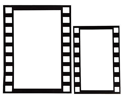 Foto-Requisiten für Hollywood-Film-Partys, 4 Stück ()