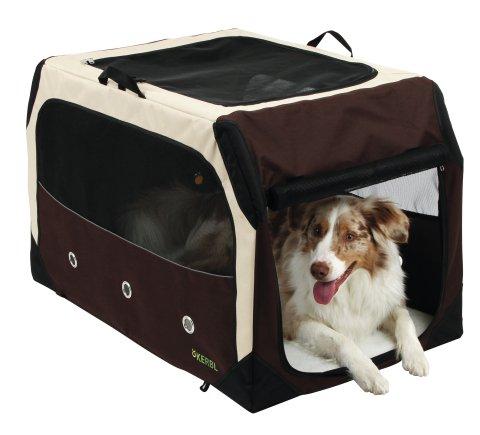 Transport Bag Transporttasche für Hunde mit Rahmen aus Metall 43x 61x 45.dg81350