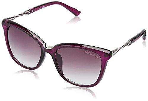LOUIS SMIT Gradient Cat Eye Women\'s Sunglasses - (LS107 C3 55 Brown Gradel Color)