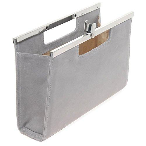 Peter Kaiser 99,313 Damen Handtasche Topas (Grey)