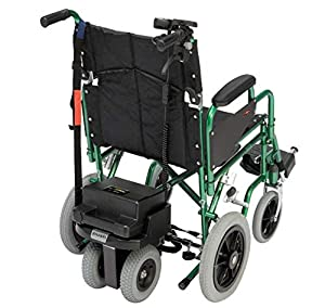 Drive Devilbiss S Drive Powerstroll – Portable Dual Wheel Power Pack – Wheelchair Assist Device w/Reverse Function