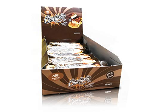 Peak - Choctastic Deluxe Proteinriegel - 12 Bars á 70g Peanutbutter-Caramel -