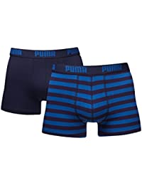 Puma Herren Striped  Boxer 2er Pack