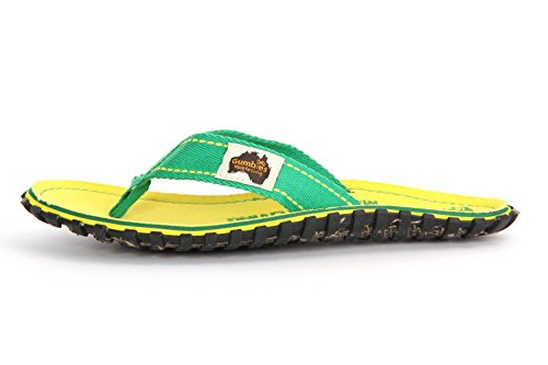 Gumbies Islander Sandale yellow eroded
