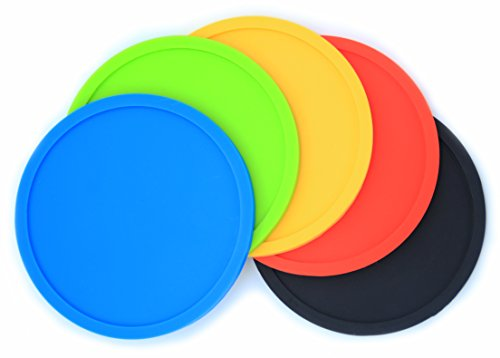 lcz-silicone-drink-coasters-set-of-5-colour