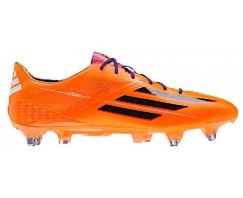 F50 ADIZERO XTRX SG ORA - Chaussures Football Homme Adidas Orange