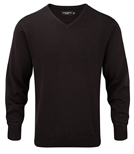 Russell Collection - Pull - Homme XX-Large Noir
