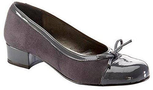 Chillany Ballerines 25385 Tissu Synthétique gris Gris