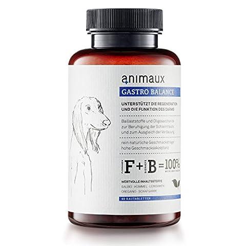 animaux® Magen-Darmtabletten für Hunde bei und nach akutem Durchfall |
