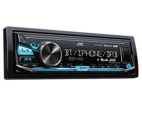JVC Autoradio kdx441DBT Antenne DAB + Bluetooth pour Audi A4+ AVANT (B5/8D) 6/99> 9/01