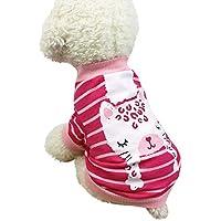 Navidad Ropa para Mascotas,Gusspower pequeños Perros Mascota Ropa Camiseta Estampado Cachorro Traje de Invierno